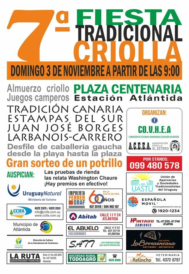 7ma. Fiesta Tradicional Criolla