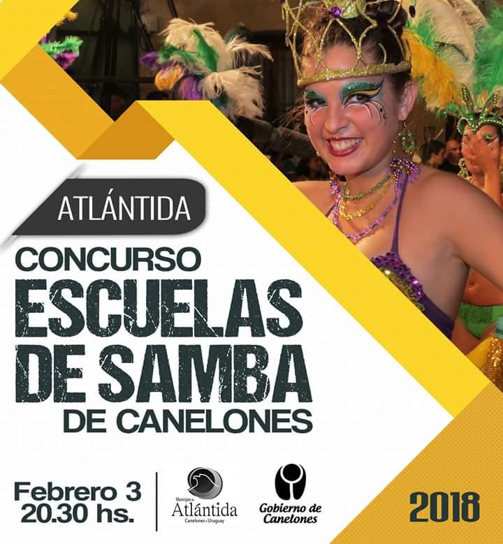 Desfile y Concurso de Escuelas de Samba en Atlántida