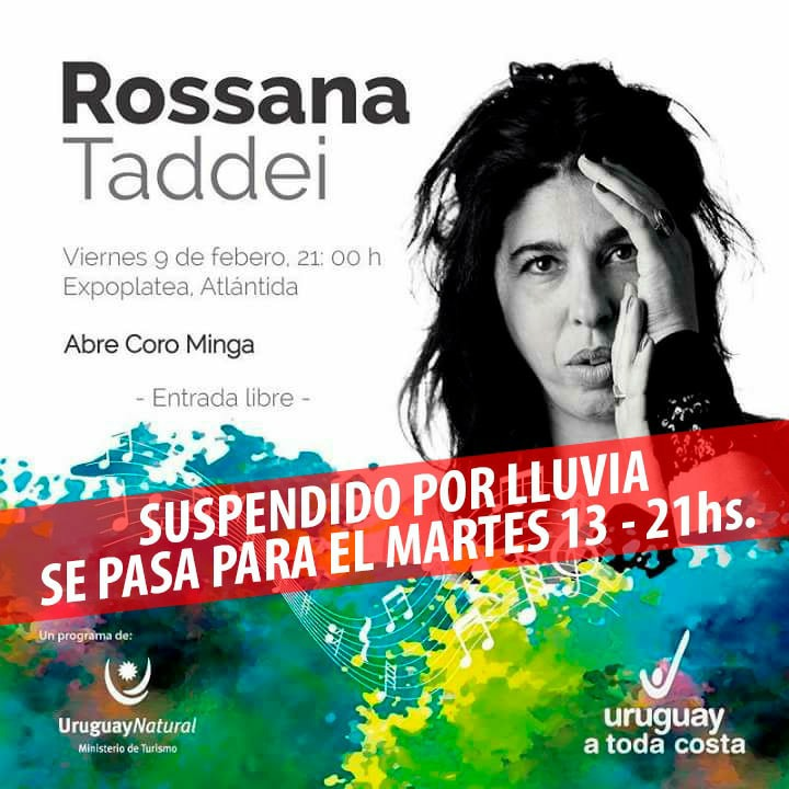 Rossana Taddei en la Expoplatea José Carbajal