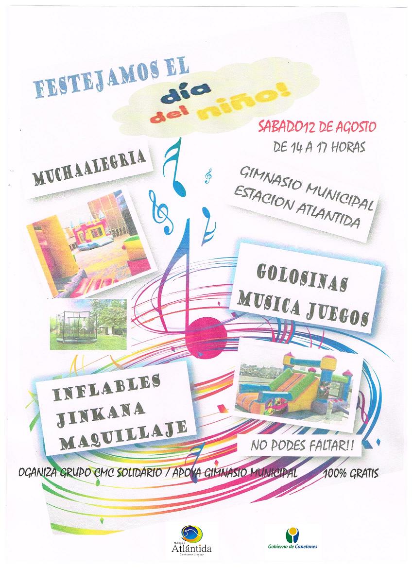 Festejamos el Día del Niño en el Gimnasio Municipal de Barrio Español