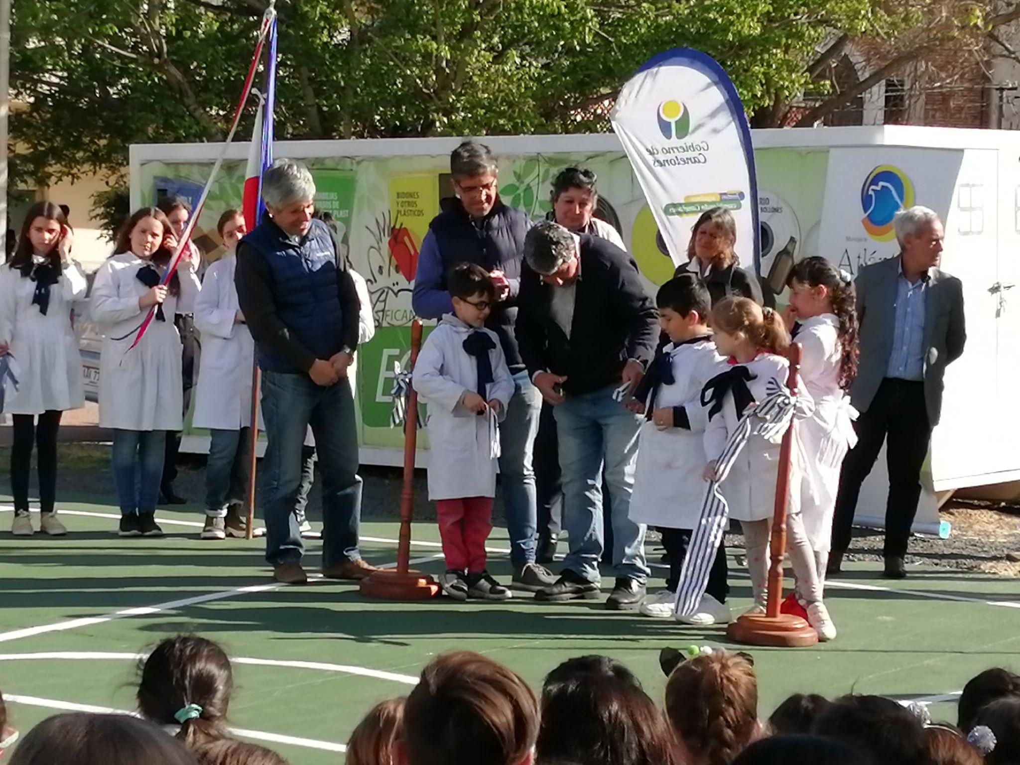Inauguración Espacio Deportivo Escuela N°146