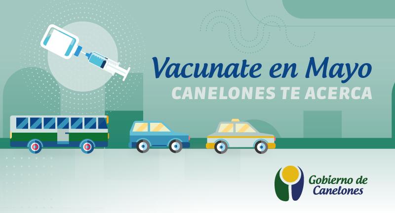 Canelones te Acerca - El Gobierno de Canelones comienza a implementar el programa de traslados Vacunate en Mayo