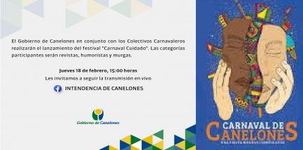 """""""CARNAVAL CUIDADO"""" EN CANELONES"""