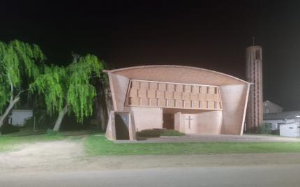 Iluminación de Iglesia Cristo Obrero