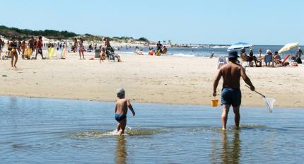 Playas aptas para baños en Canelones