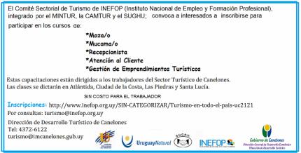 Capacitaciones  INEFOP