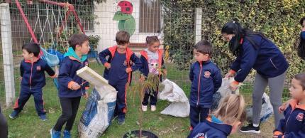 Plantación en Jardín Fabin