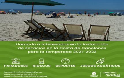 ABRIÓ LLAMADO PARA LA INSTALACIÓN DE SERVICIOS EN LA COSTA DE CANELONES
