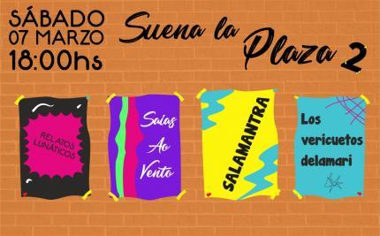 """""""Suena La Plaza 2"""" en Plaza Varela de Atlántida"""