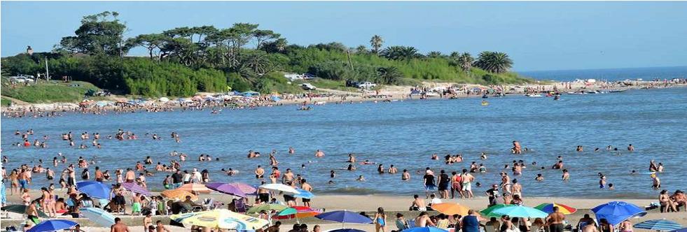Playa mansa Atlántida